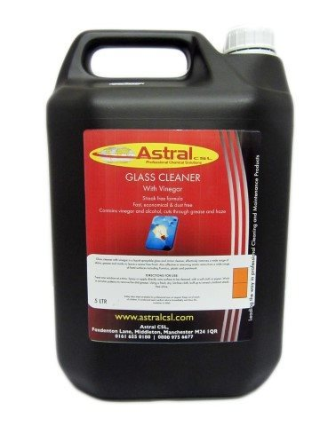 Astral Glass Cleaner With Vinegar