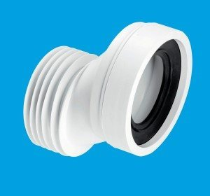 McAlpine 40mm Offset WC Connector